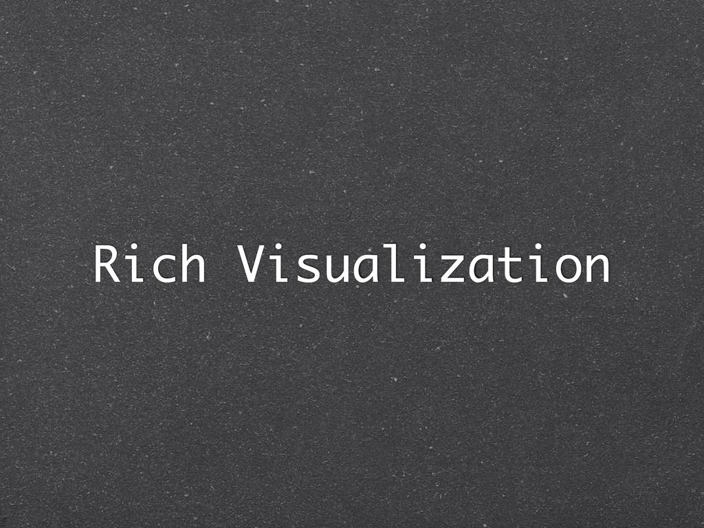 Rich Visualization
