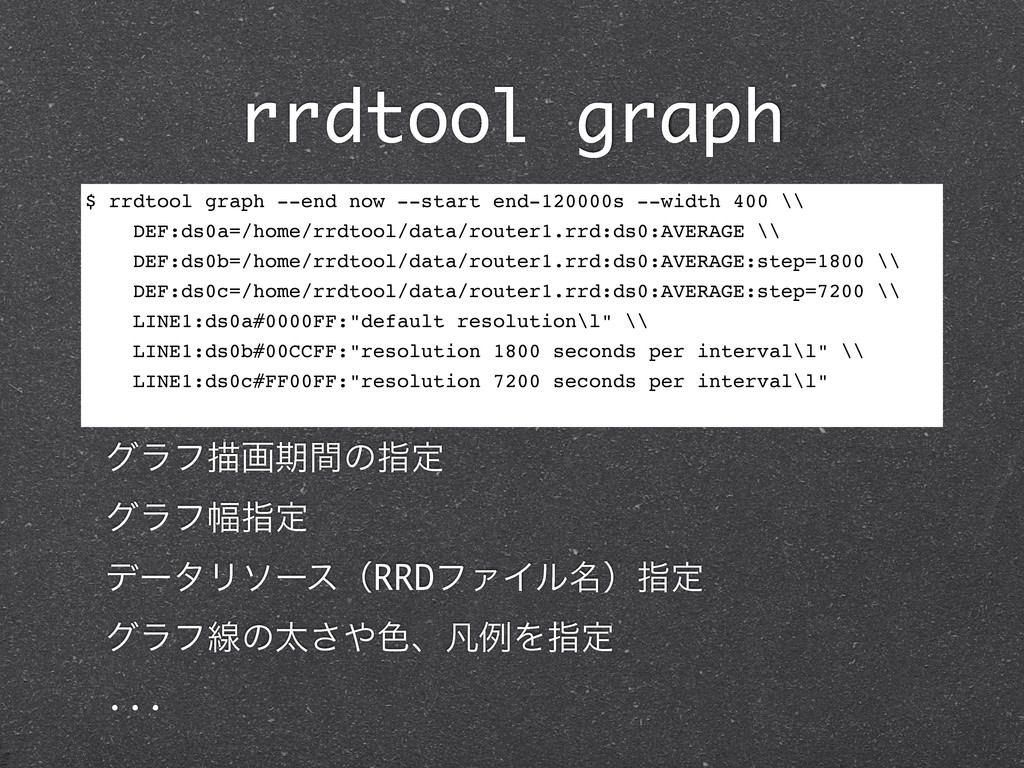 rrdtool graph $ rrdtool graph --end now --start...
