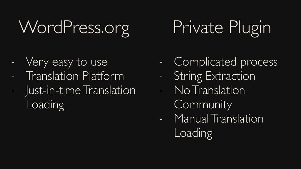 WordPress.org Private Plugin - Very easy to use...