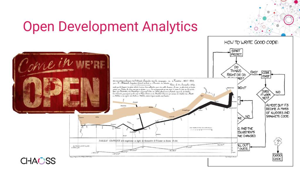 Open Development Analytics