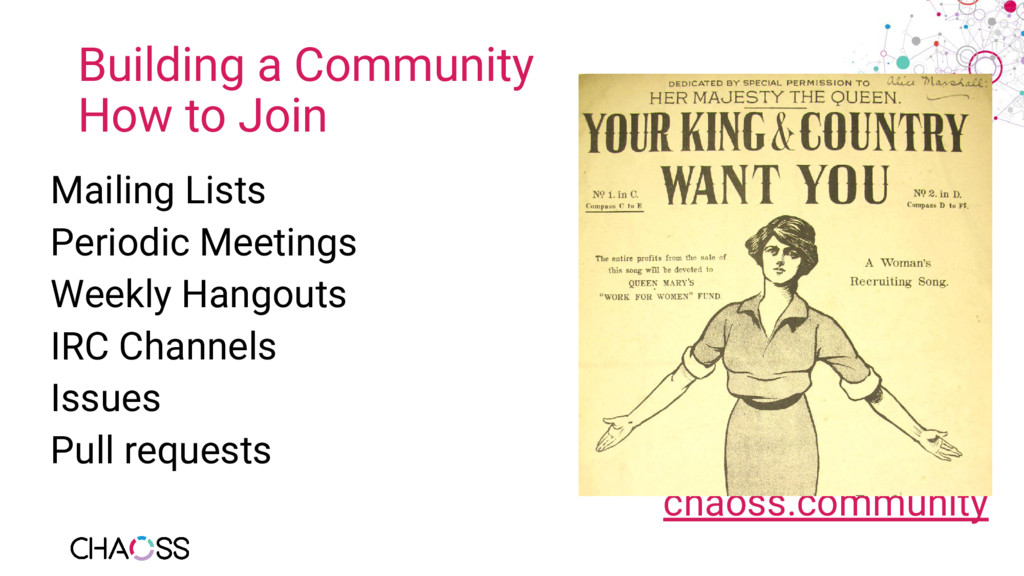 Building a Community How to Join Mailing Lists ...