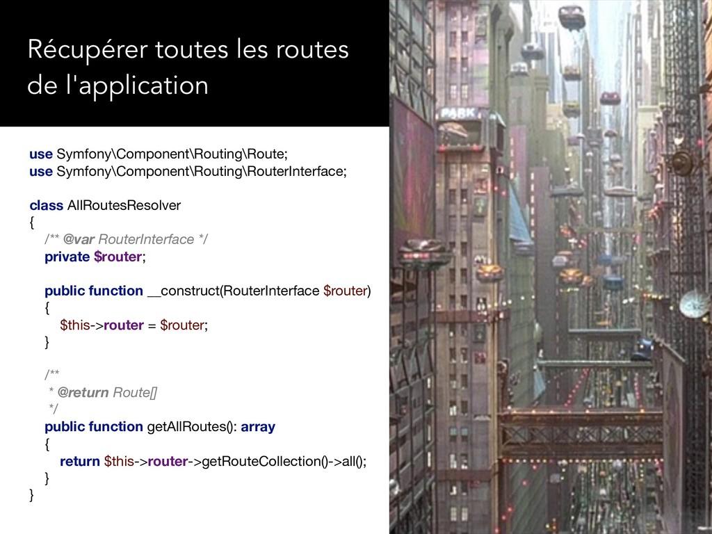 use Symfony\Component\Routing\Route;  use Symfo...
