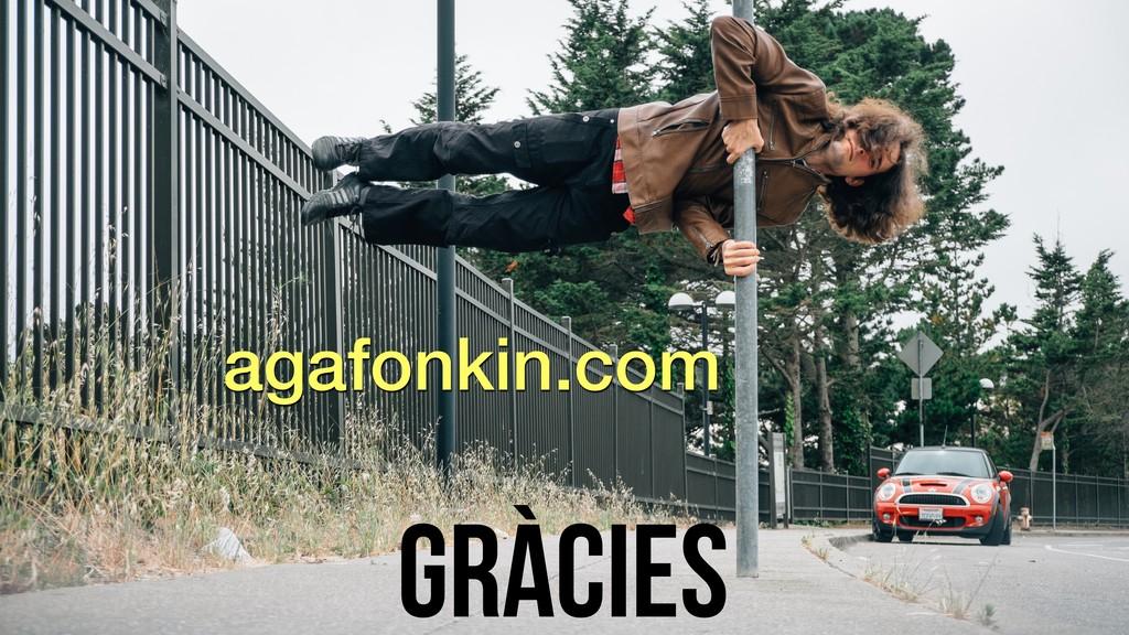 Gràcies agafonkin.com