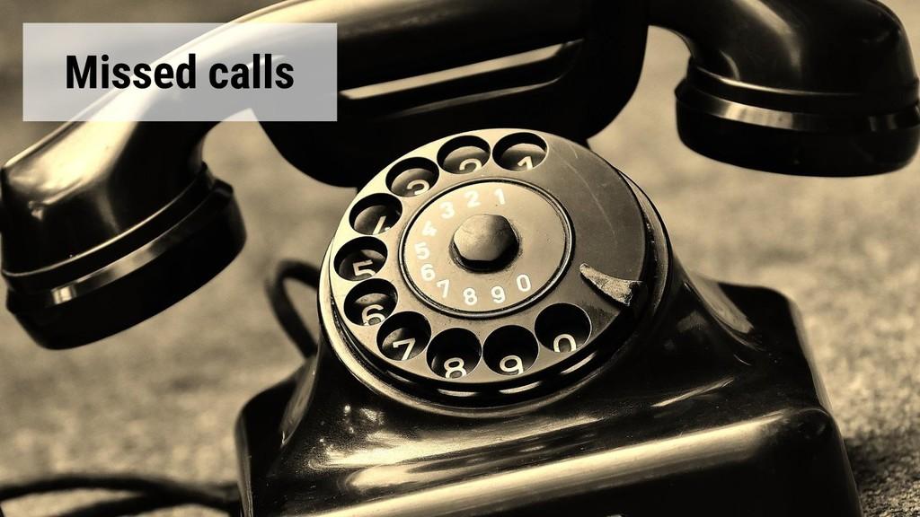 @glaforge Missed calls