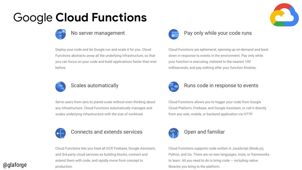 @glaforge Google Cloud Functions