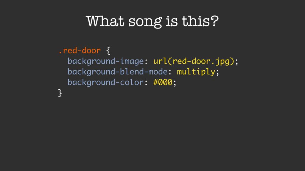 .red-door { background-image: url(red-door.jpg)...