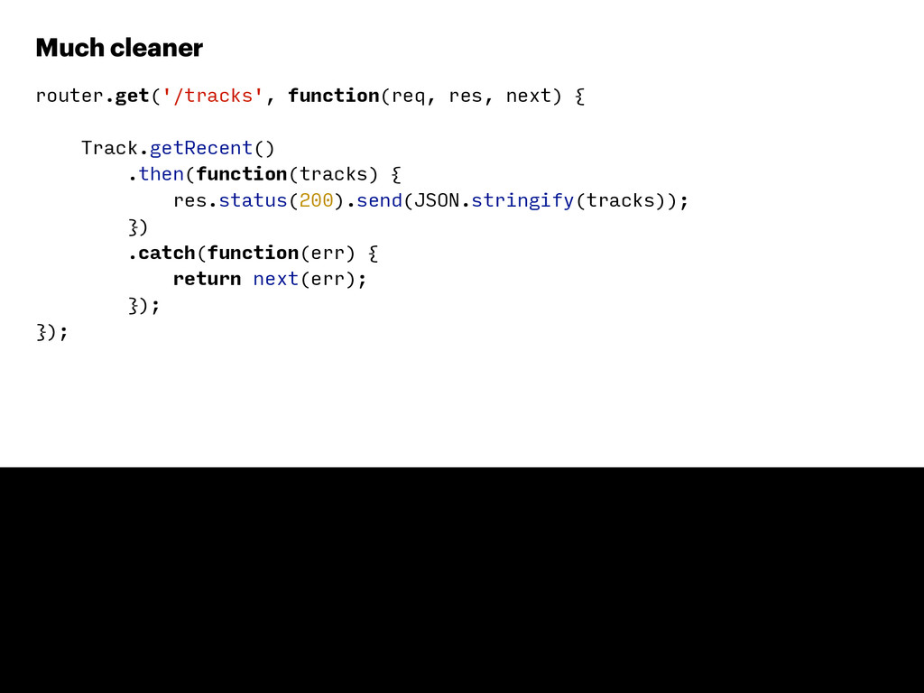 router.get('/tracks', function(req, res, next) ...