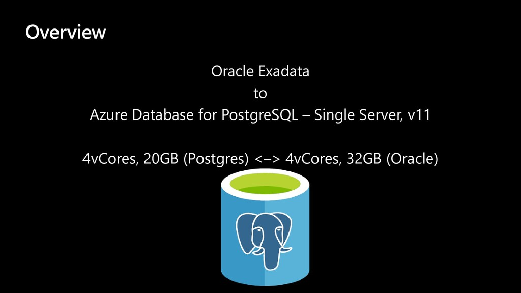 Overview Oracle Exadata to Azure Database for P...