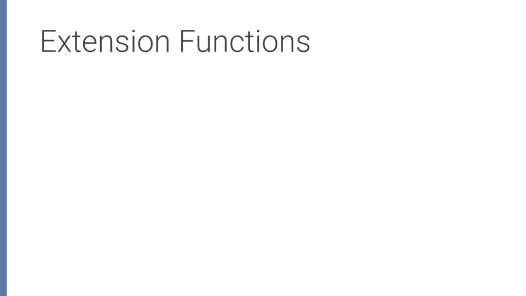 Extension Functions