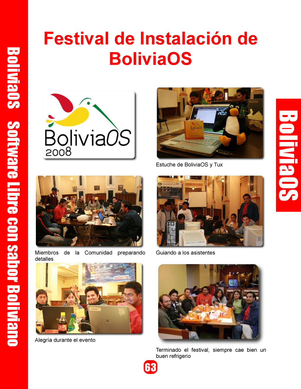 Festival de Instalación de BoliviaOS Estuche de...