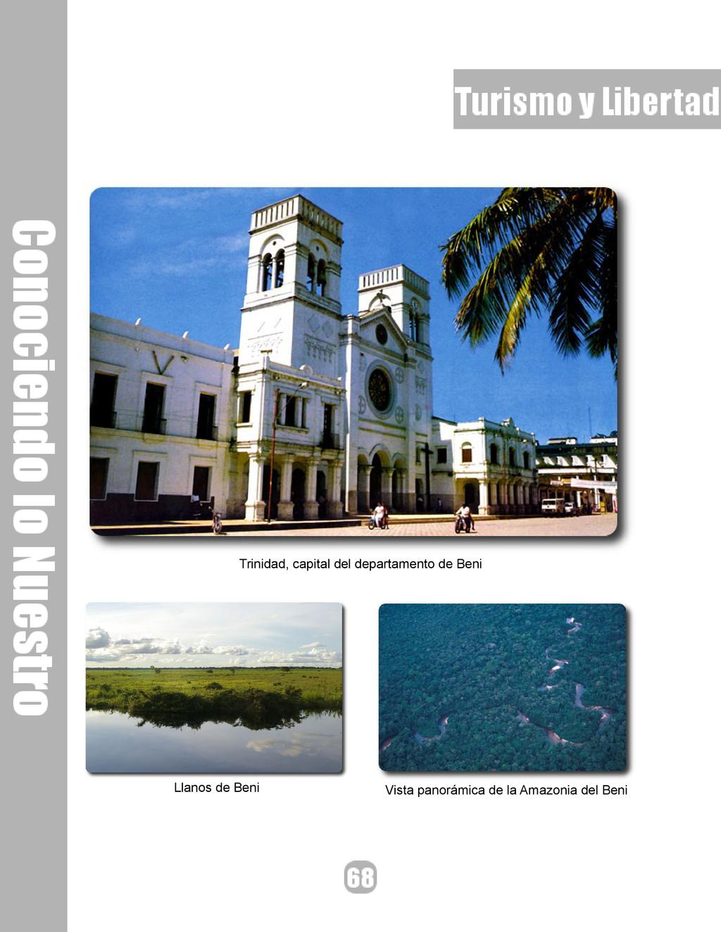 Trinidad, capital del departamento de Beni Llan...