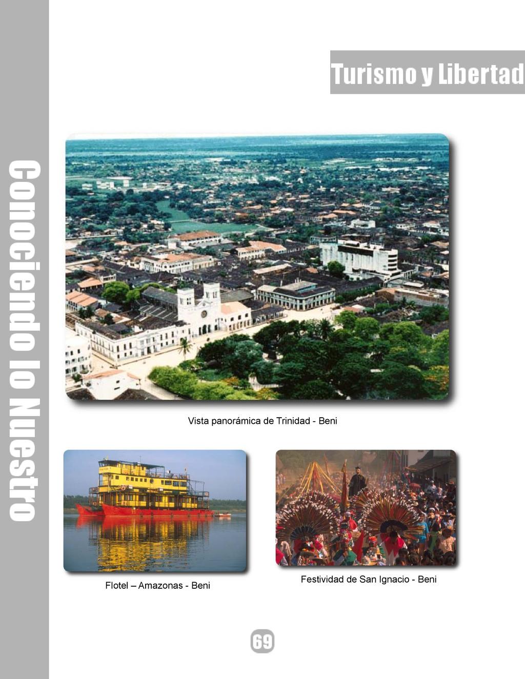 Vista panorámica de Trinidad - Beni Flotel – Am...