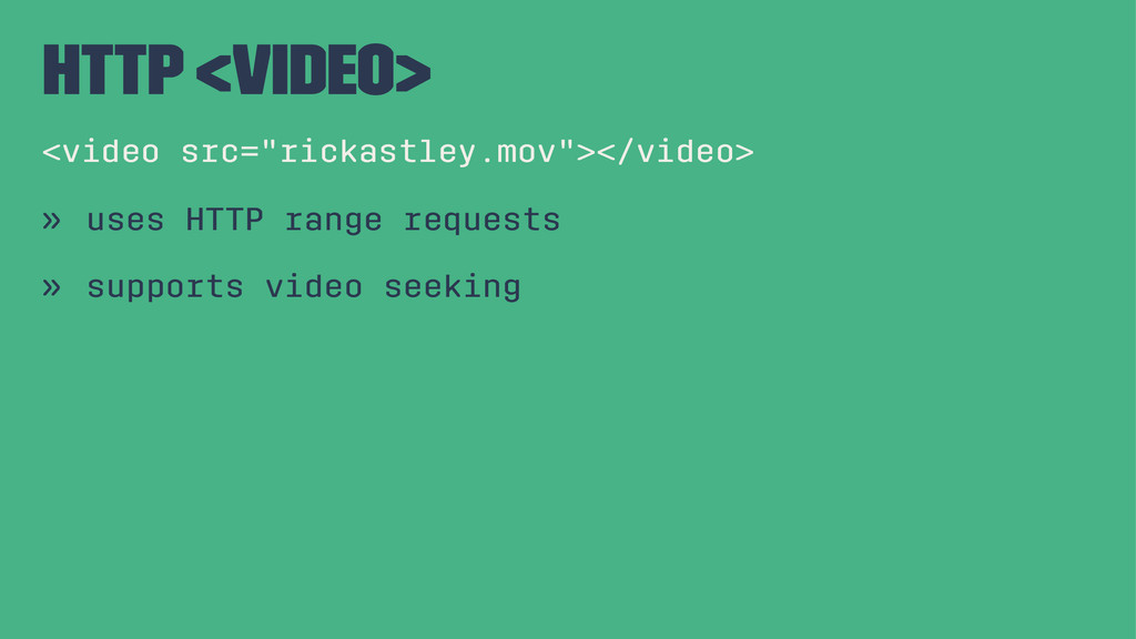 """http <video> <video src=""""rickastley.mov""""></vide..."""