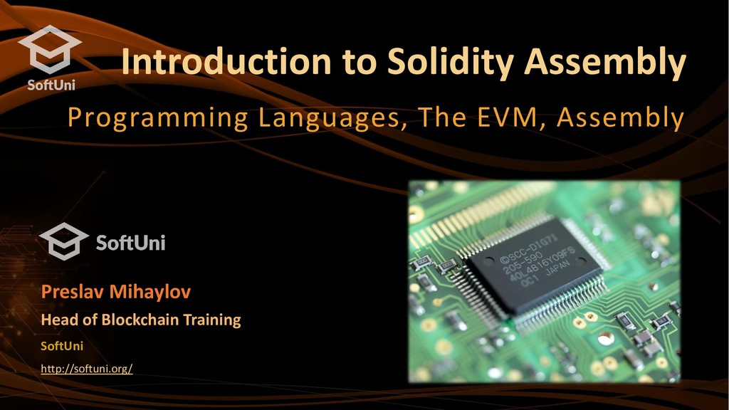 Introduction to Solidity Assembly Programming L...