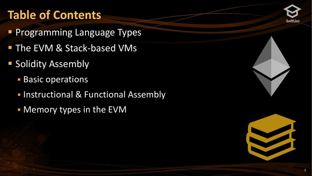 Table of Contents 2 ▪ Programming Language Type...