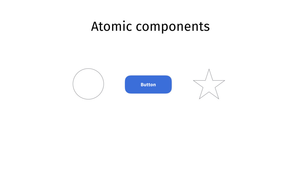Atomic components Button