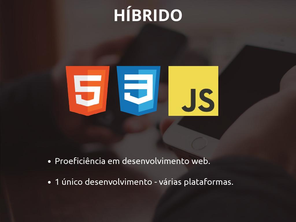 • Proeficiência em desenvolvimento web. • 1 úni...