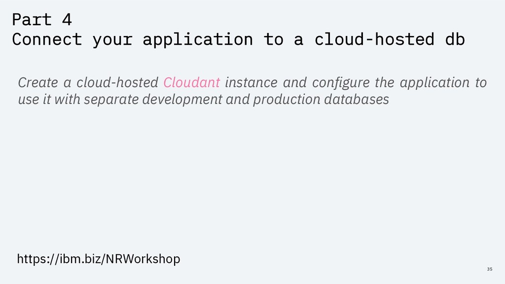 Part 4 Connect your application to a cloud-host...