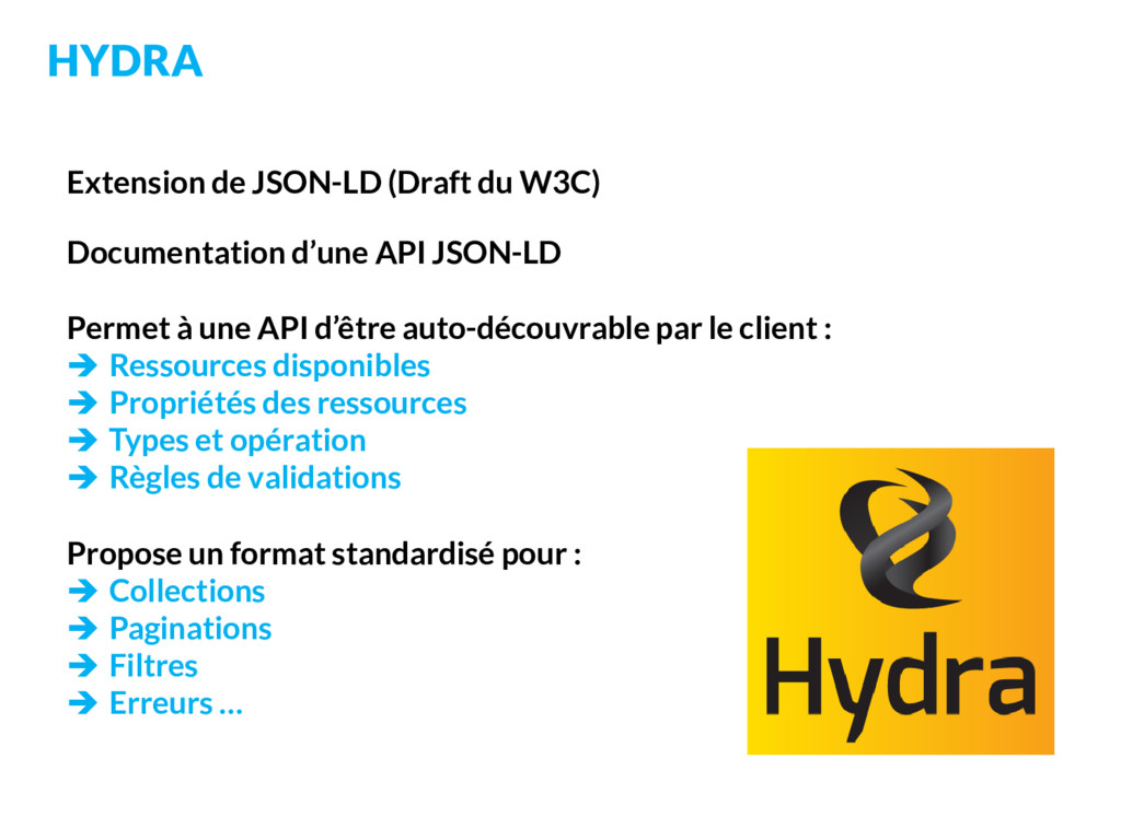 Extension de JSON-LD (Draft du W3C) Documentati...