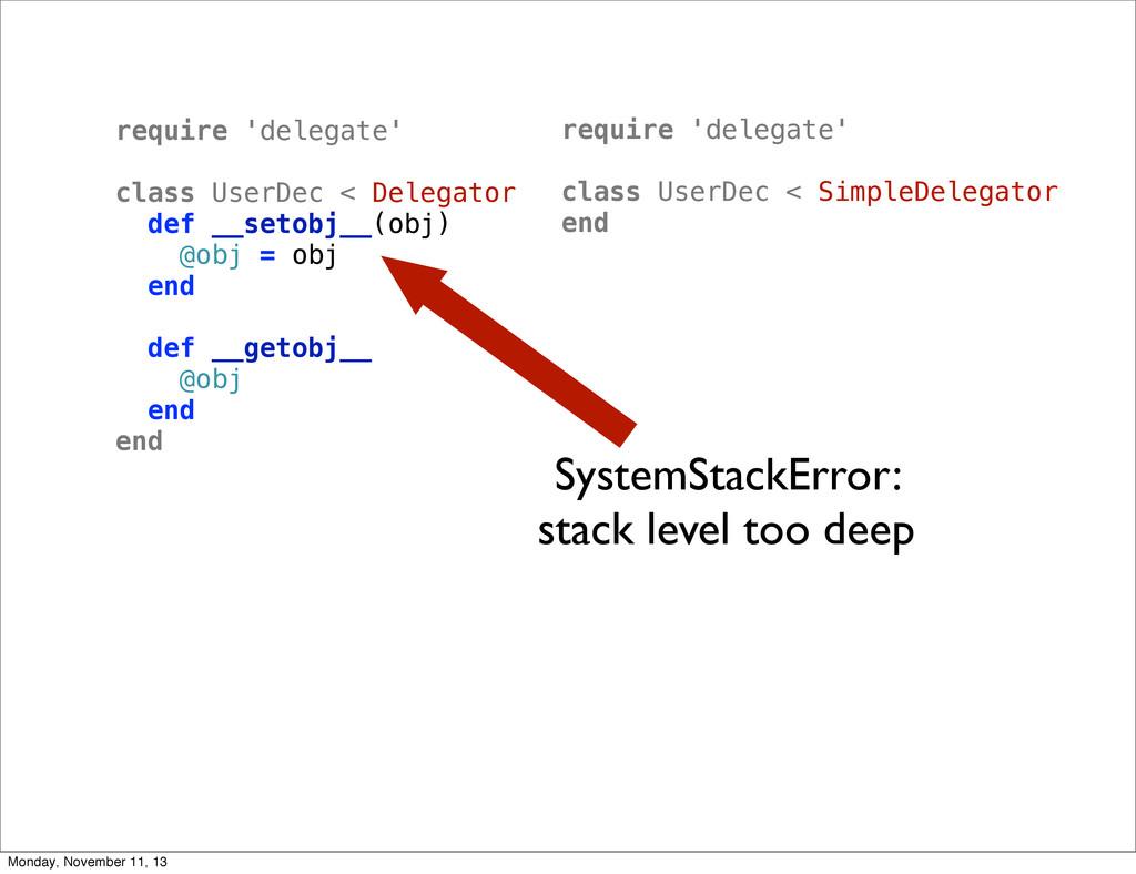 require 'delegate' class UserDec < Delegator de...