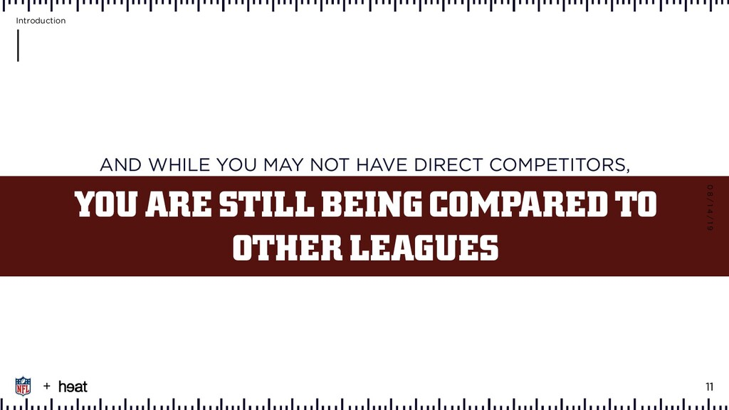 AND WHILE YOU MAY NOT HAVE DIRECT COMPETITORS, ...