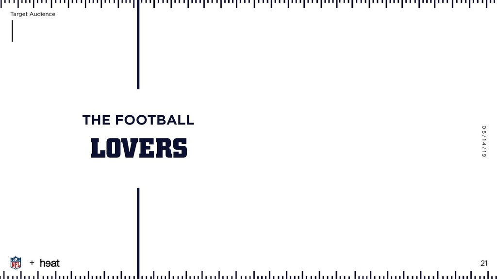 LOVERS THE FOOTBALL 0 8 / 1 4 / 1 9 + 21 Target...