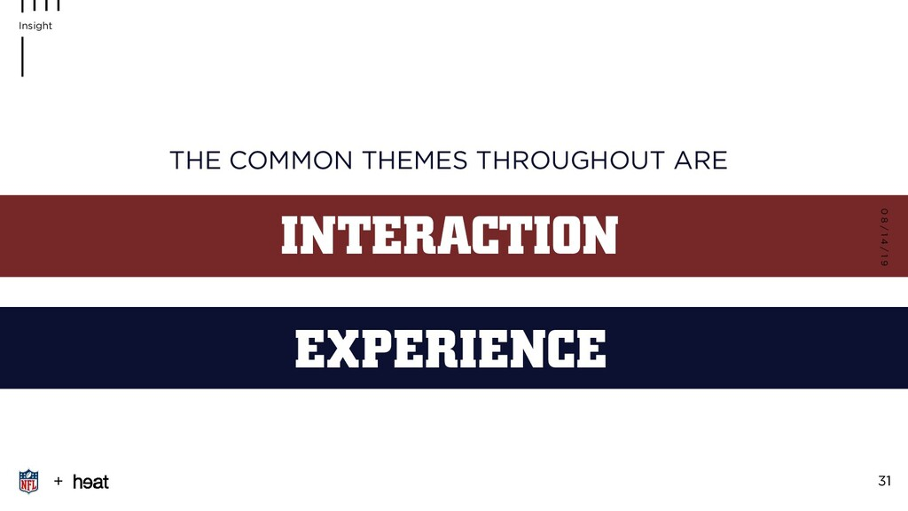INTERACTION THE COMMON THEMES THROUGHOUT ARE EX...
