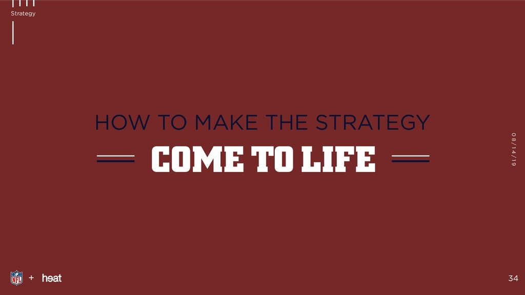 + 34 Strategy COME TO LIFE HOW TO MAKE THE STRA...