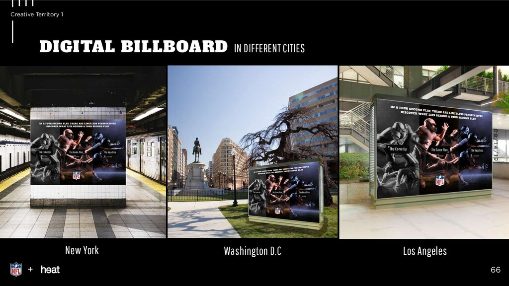 New York Washington D.C Los Angeles DIGITAL BIL...