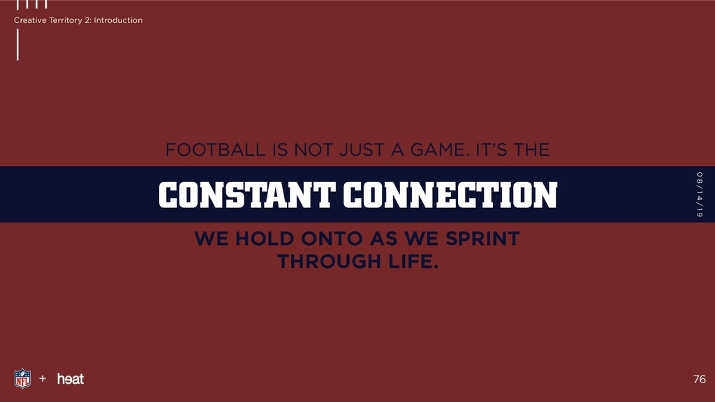 FOOTBALL IS NOT JUST A GAME. IT'S THE WE HOLD O...