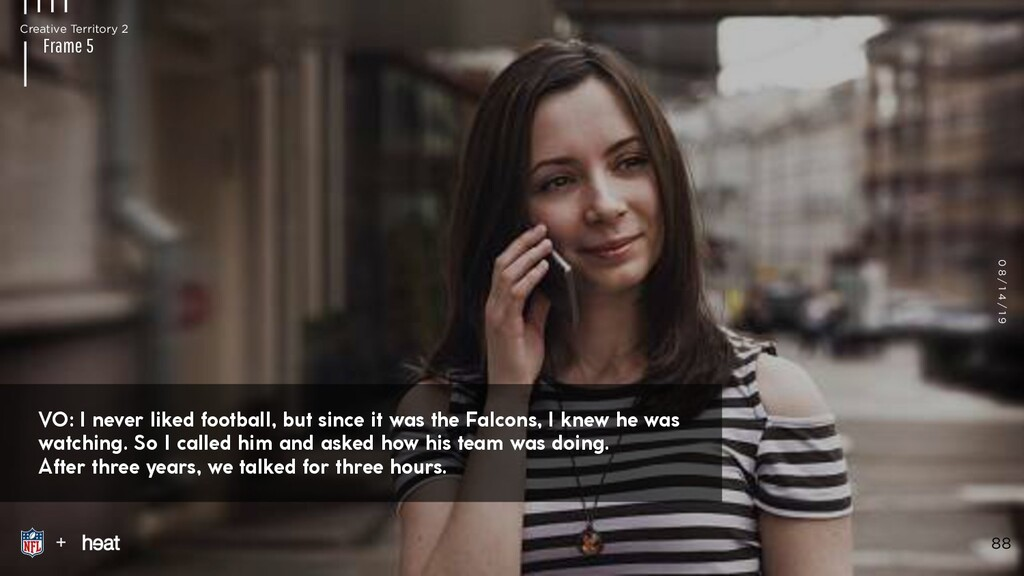 VO: I REMEMBER PLAYING WITH HER UNTIL THE STREE...