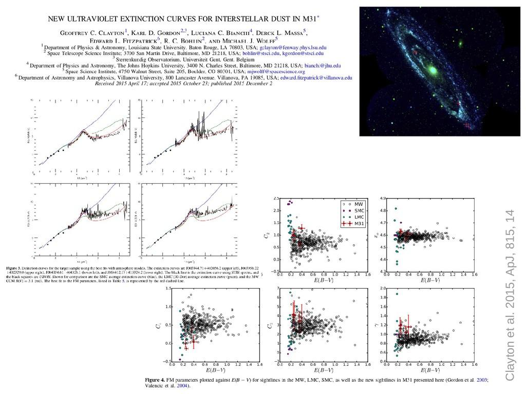 Clayton et al. 2015, ApJ, 815, 14