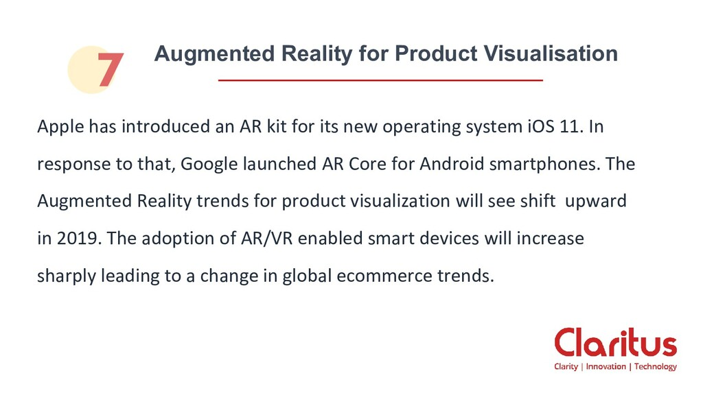 Augmented Reality for Product Visualisation App...