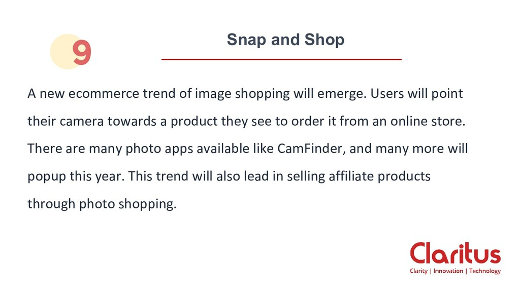 Snap and Shop A new ecommerce trend of image sh...