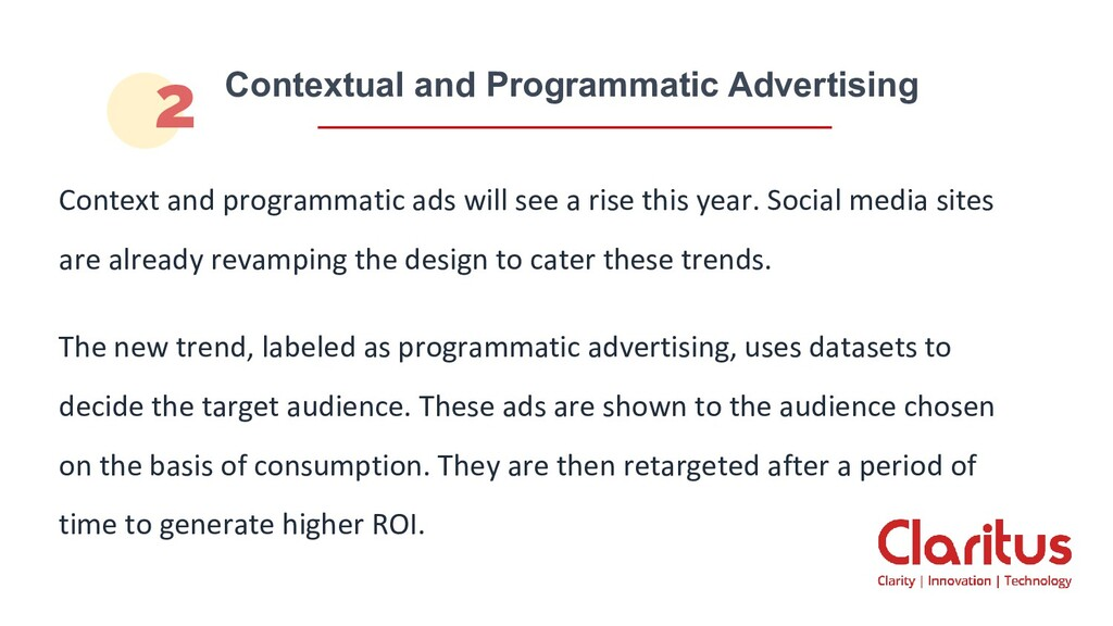 Context and programmatic ads will see a rise th...
