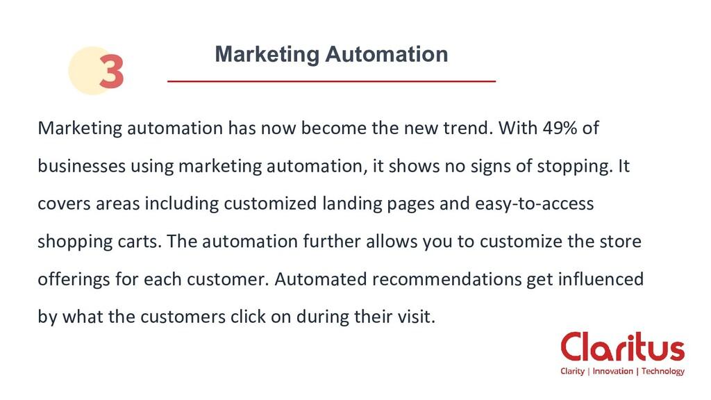 Marketing Automation Marketing automation has n...