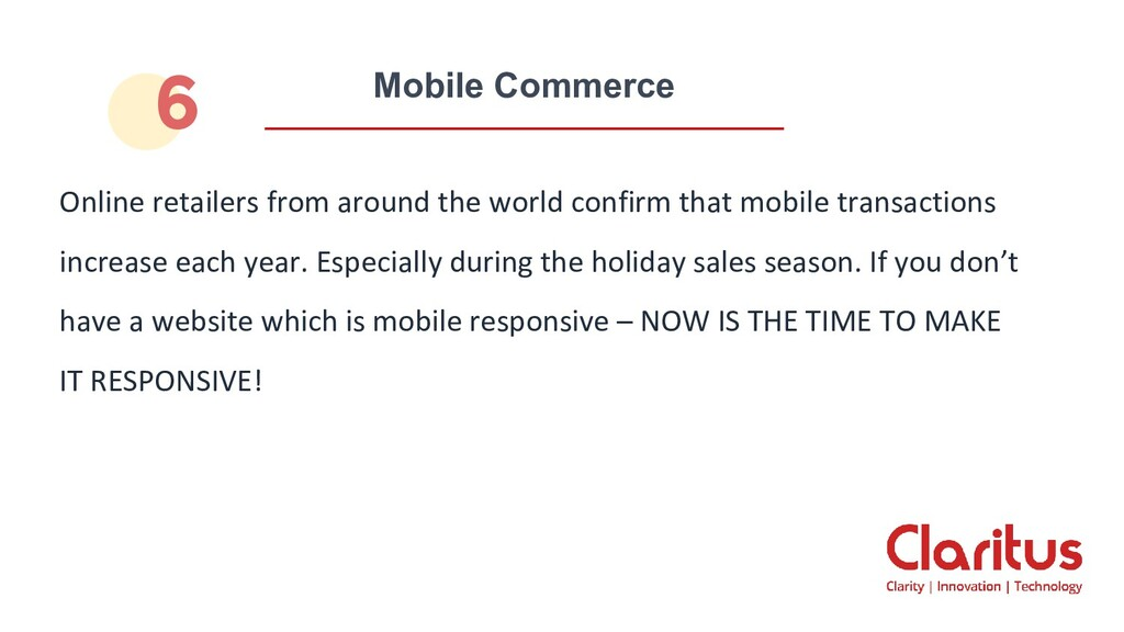 Mobile Commerce Online retailers from around th...