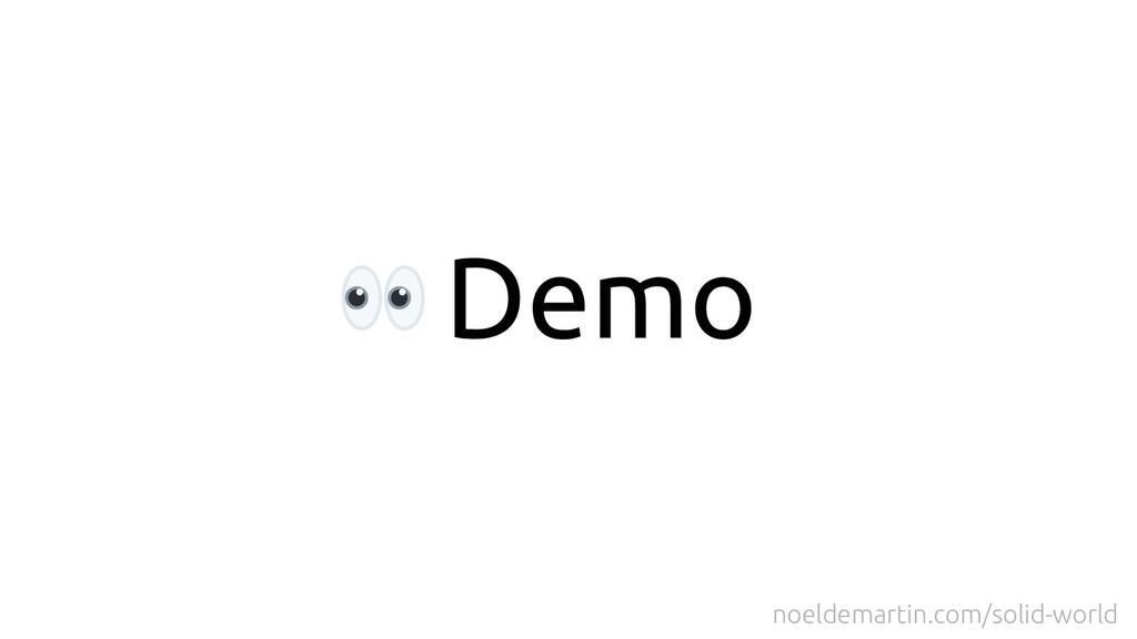 Demo noeldemartin.com/solid-world