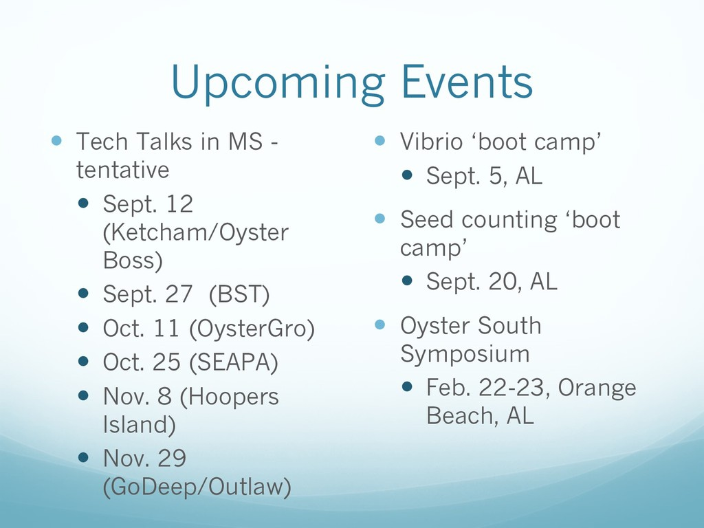 Upcoming Events — Tech Talks in MS - tentative ...