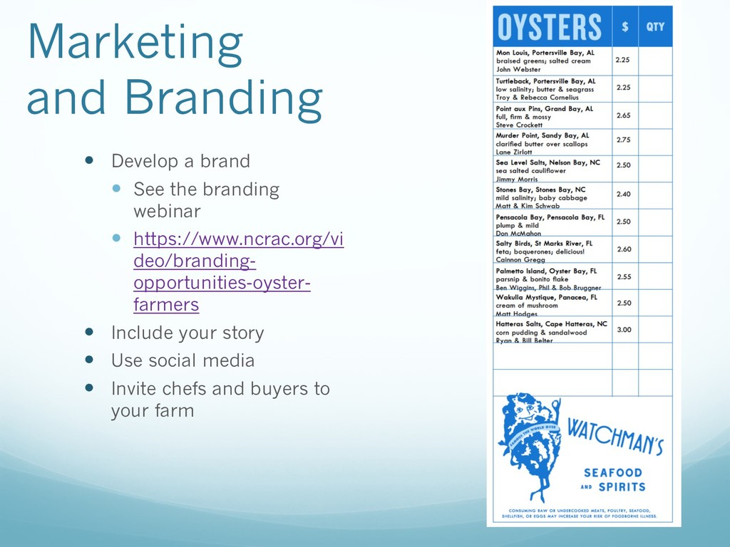 Marketing and Branding — Develop a brand — See ...