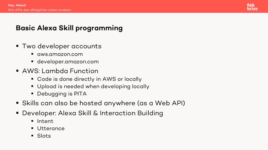 § Two developer accounts § aws.amazon.com § dev...