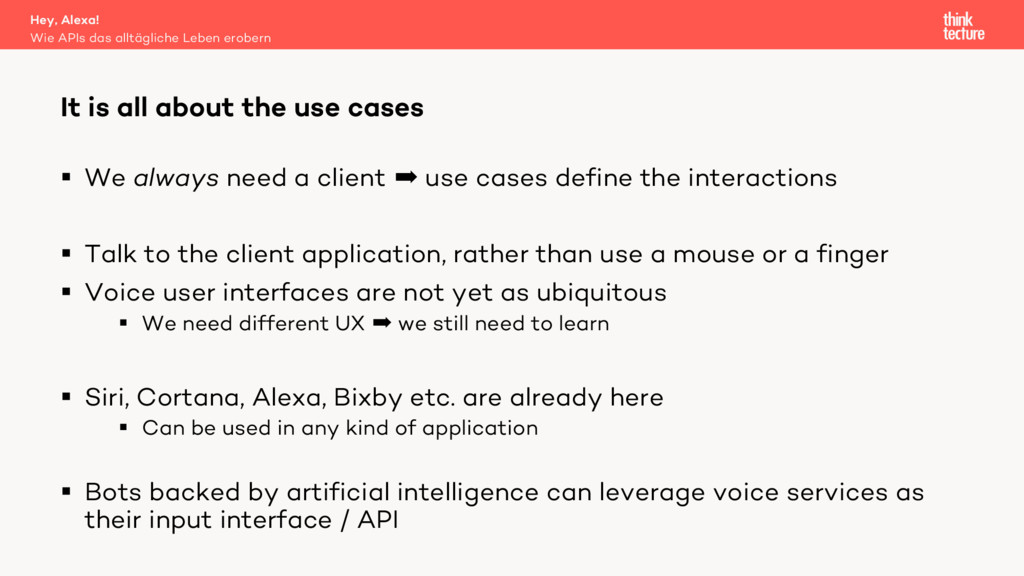 § We always need a client  use cases define th...