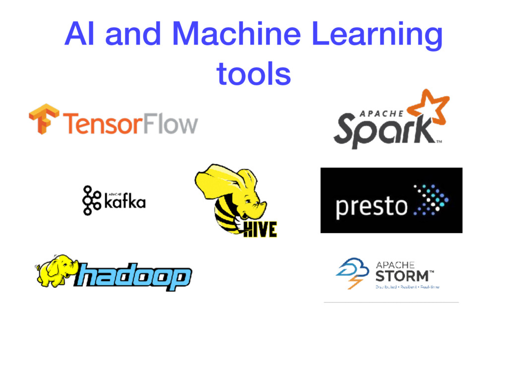 AI and Machine Learning tools