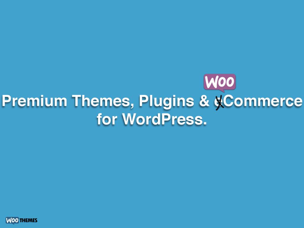 Premium Themes, Plugins & eCommerce for WordPre...