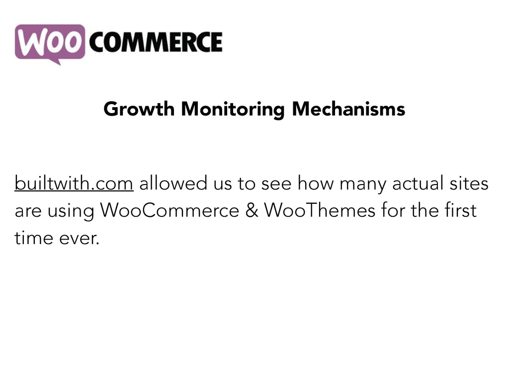 Growth Monitoring Mechanisms builtwith.com allo...
