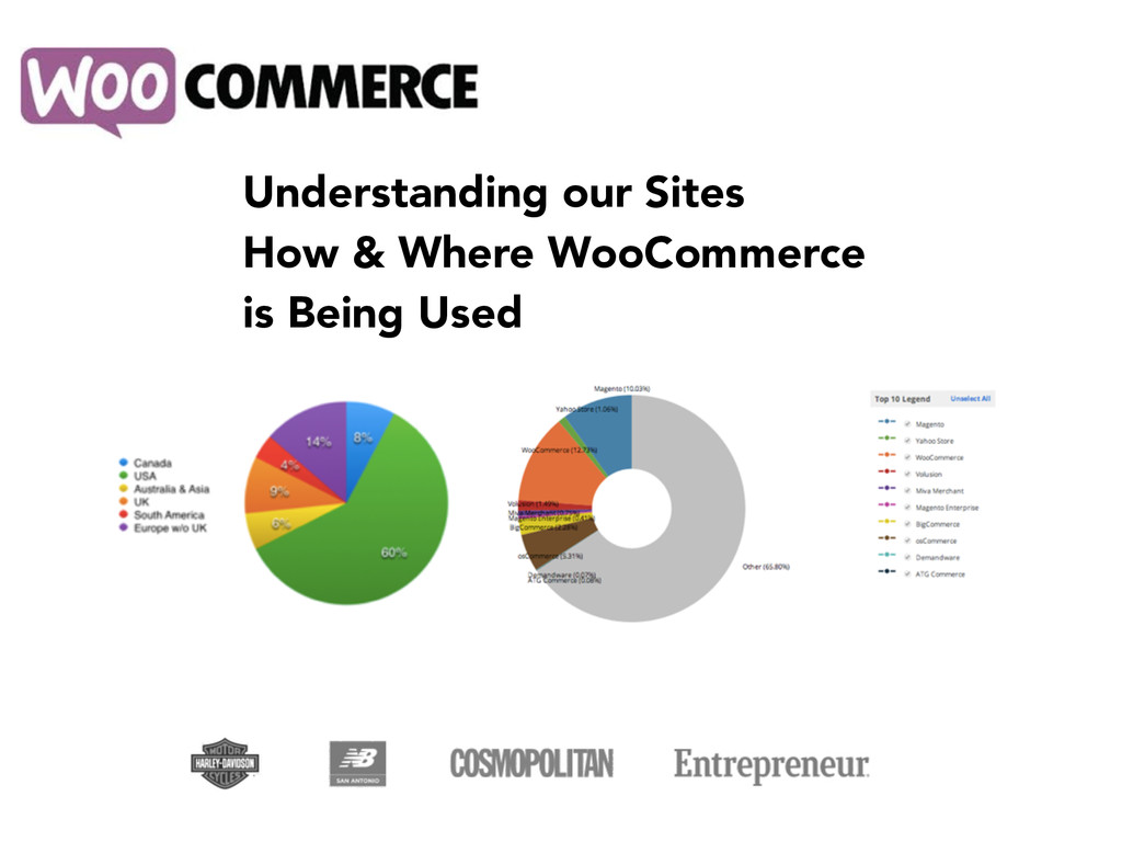 Understanding our Sites How & Where WooCommerce...