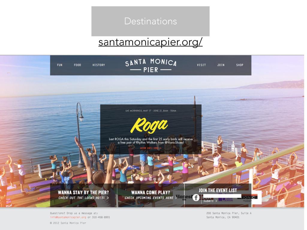 Destinations santamonicapier.org/