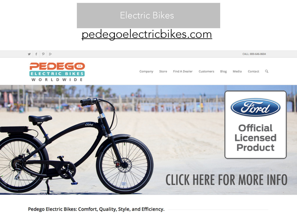 pedegoelectricbikes.com Electric Bikes