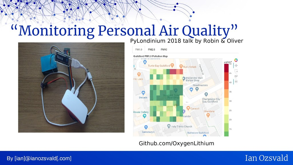 """Monitoring Personal Air Quality"" By [ian]@iano..."
