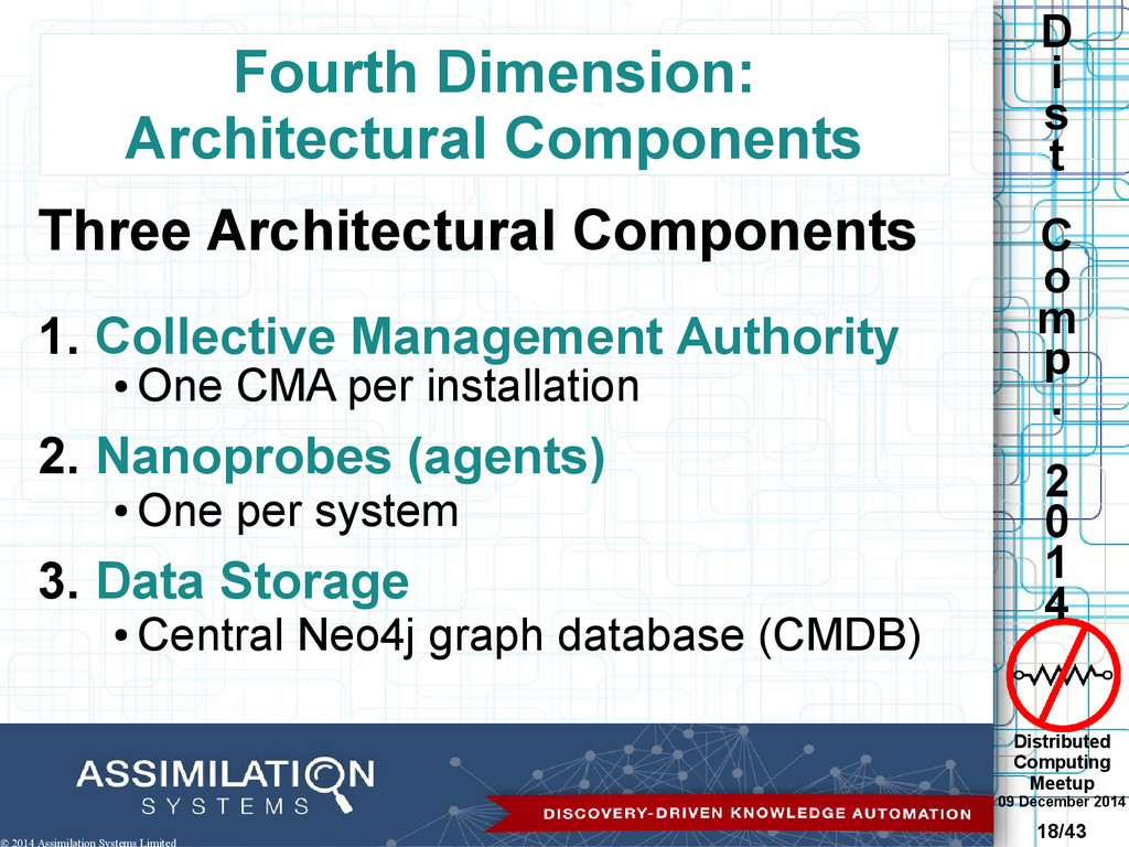 Distributed Computing Meetup 09 December 2014 1...